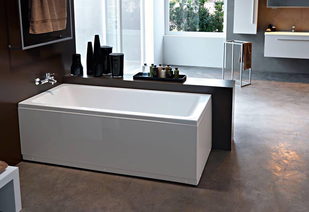 baignoire rectangulaire acrylique adela kolpa. Black Bedroom Furniture Sets. Home Design Ideas