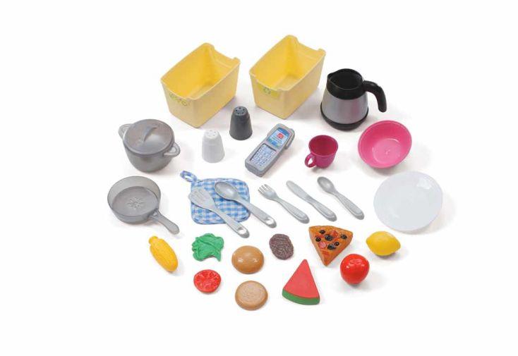 Cuisine Création en PVC Rose pour Enfants