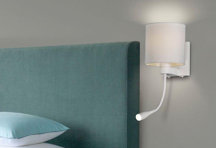 Lampe de Chevet Murale avec Lampe de Lecture LED Wendy