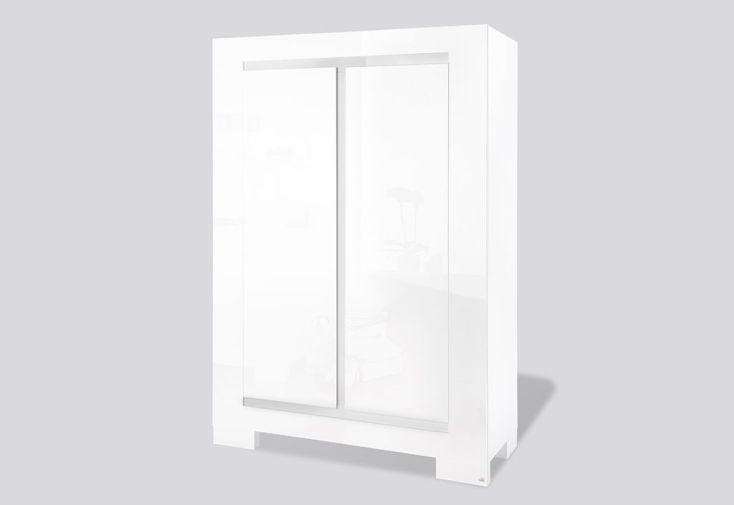 Chambre blanc laque meilleure inspiration pour votre design de maison - Coffre de rangement blanc laque ...