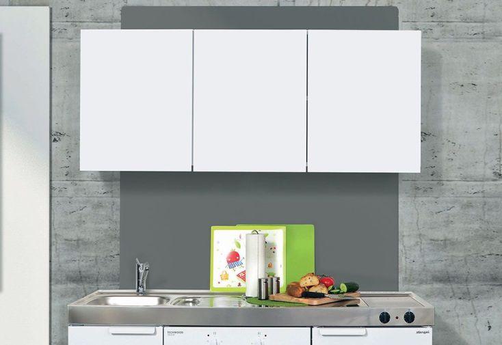 Armoire suspendue m tal classic 150 cm blanche stengel - Armoire 150 cm ...
