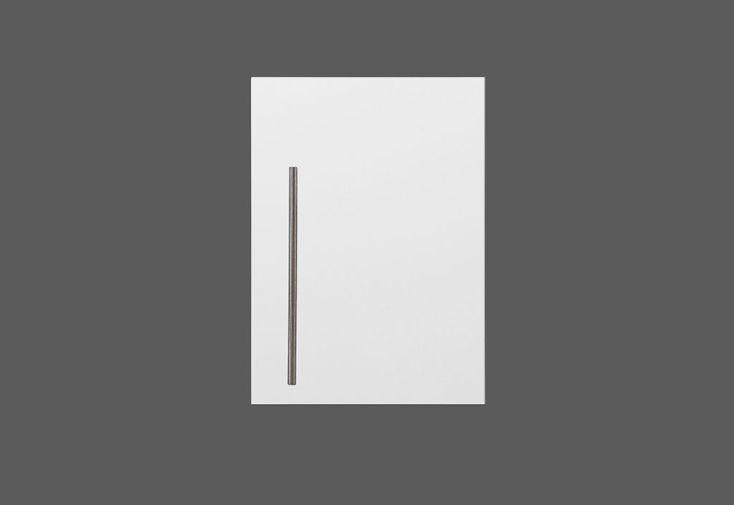 Armoire Suspendue Métal Blanc 40 cm