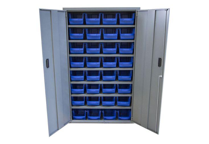 armoire de rangement en acier pour usine ou atelier