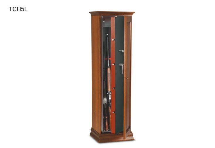 Armoire à Fusils Bois TCH/L 5 ou 10 Fusils