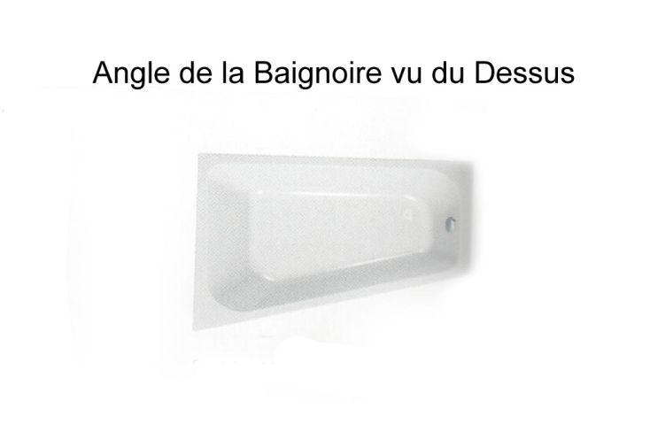 Baignoire Acrylique Beatrice Angle Droit
