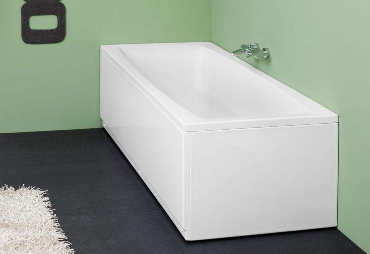 baignoire rectangulaire acrylique aida 160x75 170x75 180x80cm kolpa. Black Bedroom Furniture Sets. Home Design Ideas
