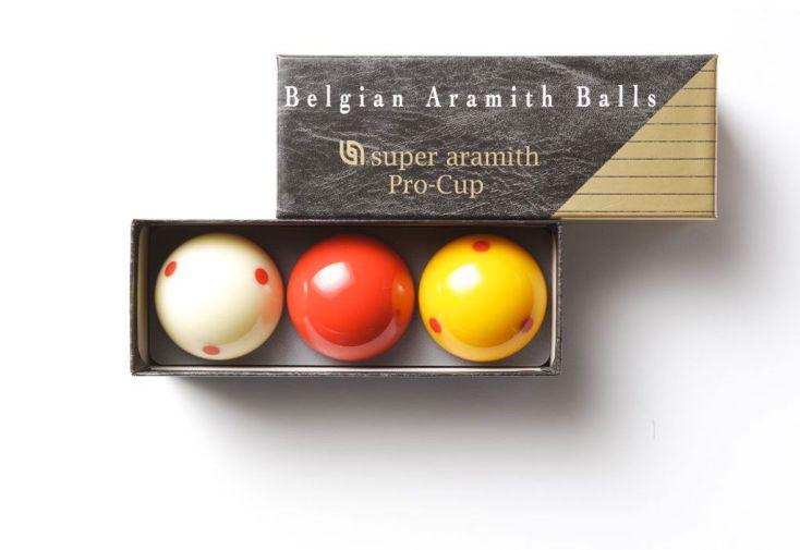 Jeu Billes de Billard Françaises Aramith Pro-Cup 61,5mm
