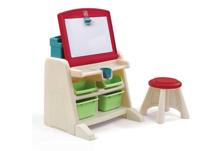 Bureau table dessin 2 en 1 pour enfant step2 - Table 2 en 1 ...