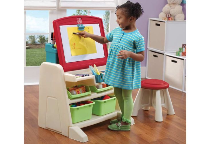 Bureau Table à Dessin 2 en 1 pour Enfant