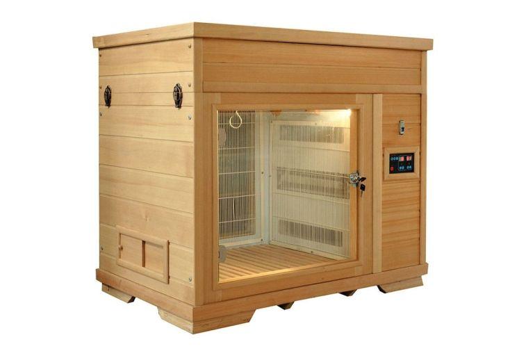 cabine de séchage pour petit chien et pour chat panneaux infrarouges