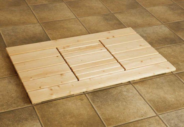 Caillebotis de sol pour Sauna