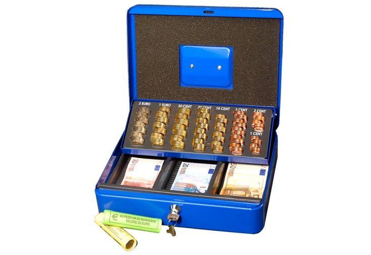 Caissette à Monnaie Elegant Europa