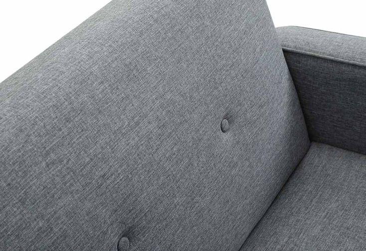 canap convertible scandinave en lin gris et bois laars remarquable. Black Bedroom Furniture Sets. Home Design Ideas