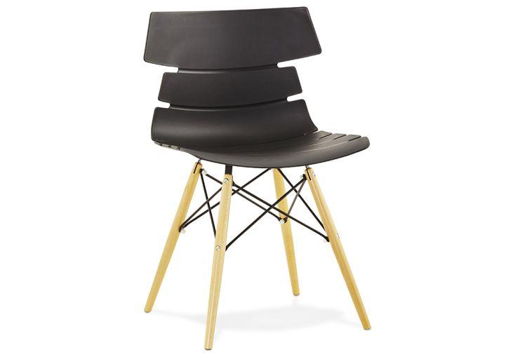 Chaise Kokoon Design Strata Noir