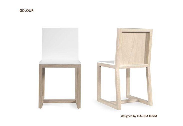 Chaise en Bois Golour Wewood
