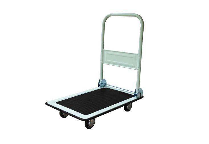 chariot de livraison en acier laqué pouvant supporter 300 kg