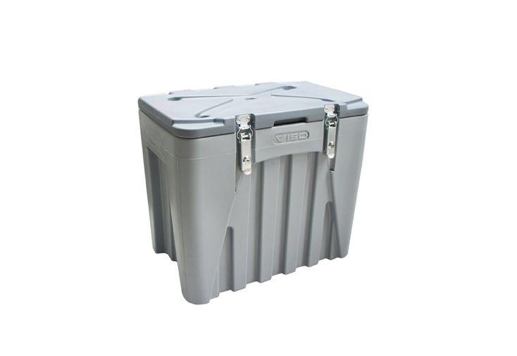 coffre de chantier en polyéthylène de 75 litres