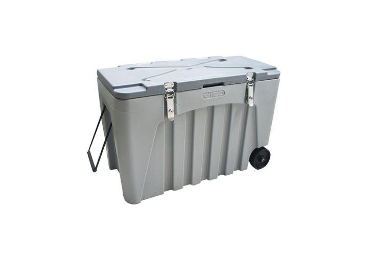 coffre de rangement industriel en polyéthylène 104 litres