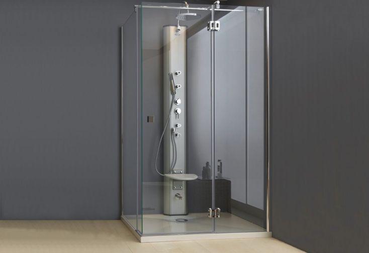 Colonne de massage en alu 5 fonctions levanto kolpa - Colonne aluminium prix ...