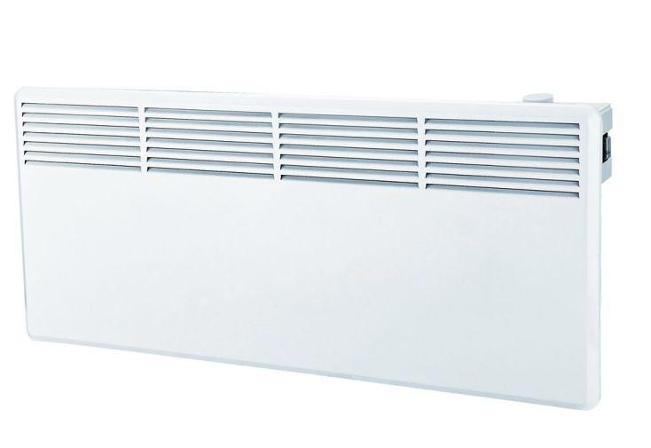 Radiateur electrique convecteur mural 1800w thermostat manuel warm tech - Radiateur mural electrique ...