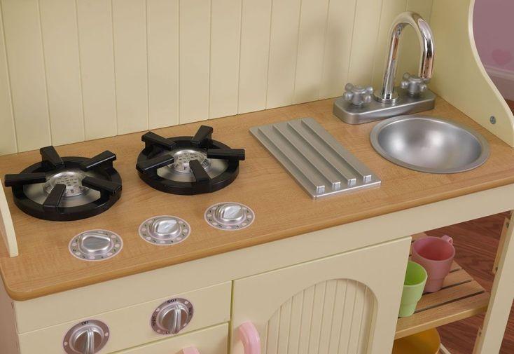 cuisine en bois traditionnelle pour enfants prairie 1 m kidkraft. Black Bedroom Furniture Sets. Home Design Ideas