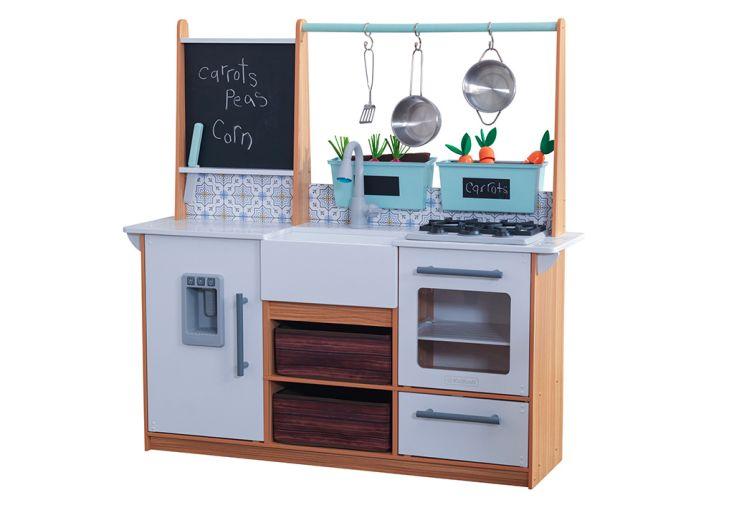 Cuisine pour enfant Kidkraft équipée et interactive son et lumière