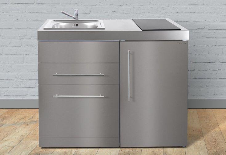 mini cuisine inox avec lave vaisselle et vitroc ramiques mpgses110 stengel. Black Bedroom Furniture Sets. Home Design Ideas
