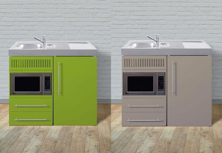 Mini cuisine avec frigo et micro ondes mpm100 6 coloris for Meuble de cuisine micro onde