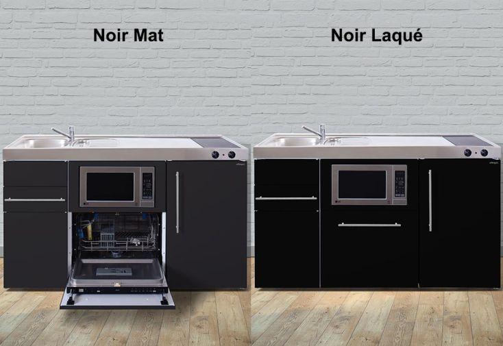 Mini cuisine avec frigo l v micro ondes et vitro mpgsm150 6 coloris mini cuisine avec for Cuisine avec frigo noir