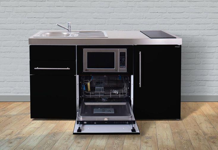 Mini-Cuisine avec Frigo, L-V, Micro-Ondes et Induction MPGSM 160