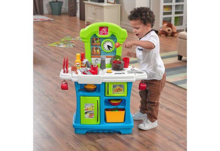 Cuisine en Plastique pour Enfant Little Cooks