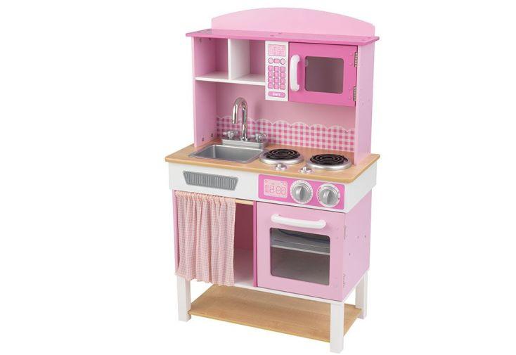 cuisine pour enfants familiale rose - kidkraft