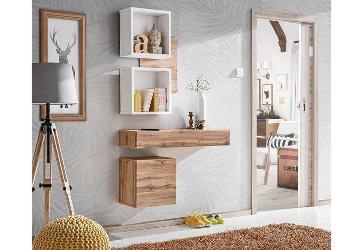Ensemble meuble mural en bois meubles de chambre ASM Easy III
