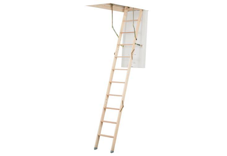 Escalier escamotable Click Fix Silver en bois