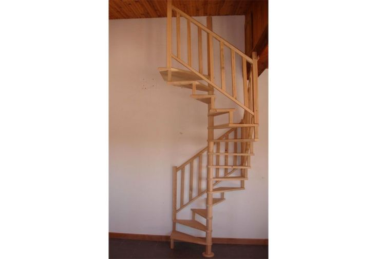 Escalier Hélicoïdal en Hêtre 2,80 m