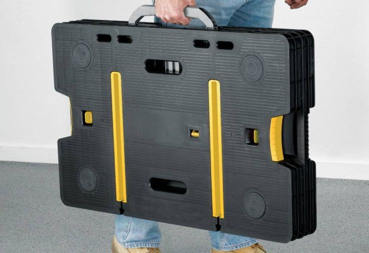 Etabli Pliant Portable Polypropylène (98.3x57x85.5cm)