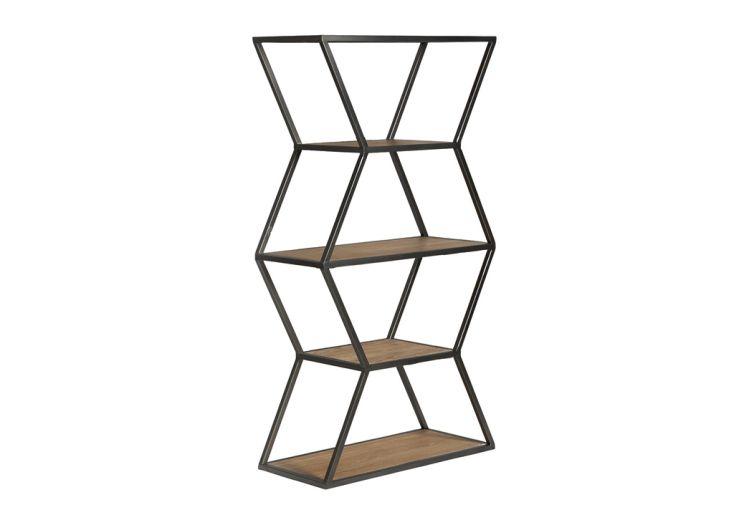 Étagère Design en Métal et Bois Socadis 39 x 46 cm