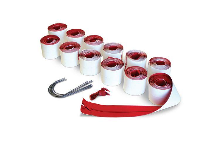Fermetures à Glissière Auto-Adhésives ZipWall 7,6 cm Lot de 12