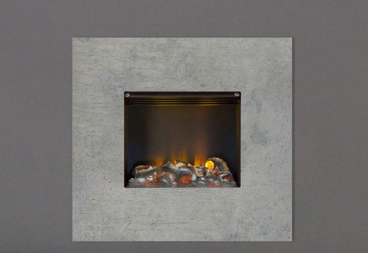 oyer Décoratif Électrique Mural Dimplex Nissum 74 x 69 cm