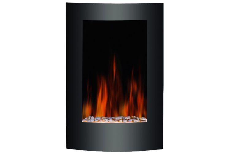 foyer d coratif electrique vertical 2000w t l commande warm tech. Black Bedroom Furniture Sets. Home Design Ideas