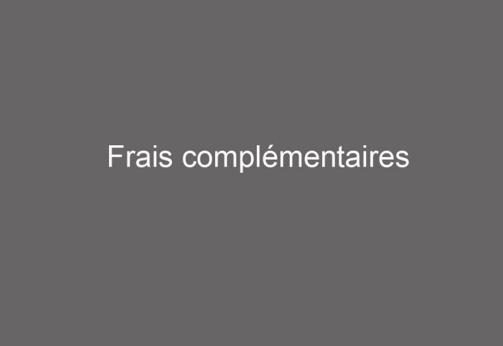 Frais complémentaires -1.