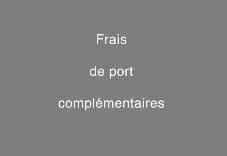 Frais de port complémentaires -1