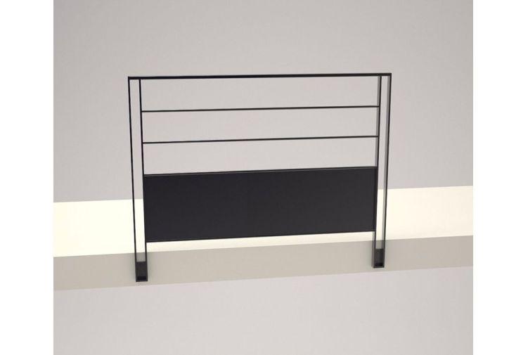 garde-coprs en acier pour Escalier-Métal
