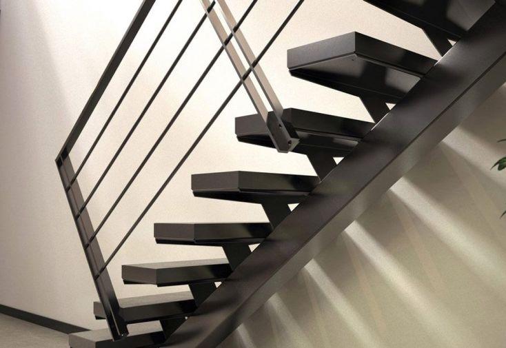 garde corps 4 lisses pour limons acier manhattan et sydney escalier m tal. Black Bedroom Furniture Sets. Home Design Ideas