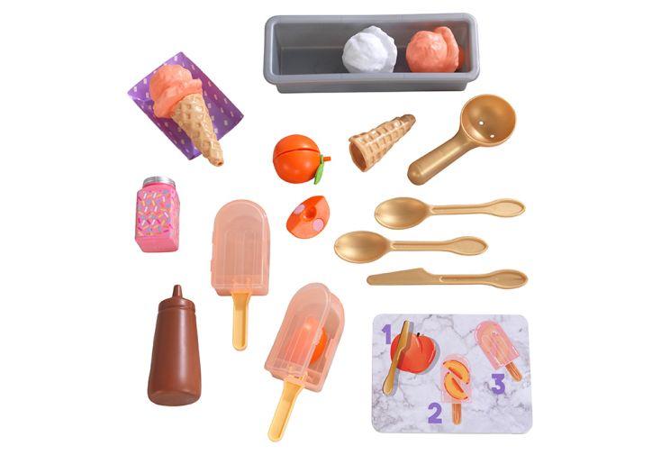 Kit de dinette pour apprendre à cuisiner des glaces à la pêche