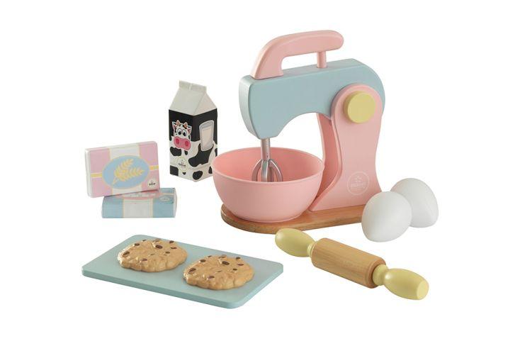 Kit de dinette pâtisserie en bois et en plastique