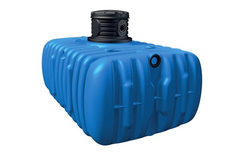 Cuve de récupération d'eau de pluie kit pour maison et jardin 3000 L