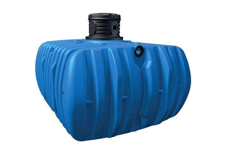 Cuve de récupération d'eau de pluie 3000L enterrée en polyéthylène