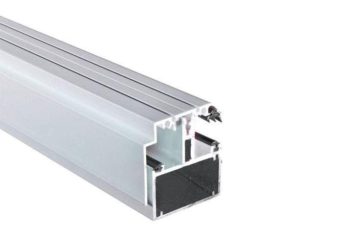 Kit Rive AutoPortant Profil T + Capot Blanc 16 mm Sur Mesure de 2 à 7m