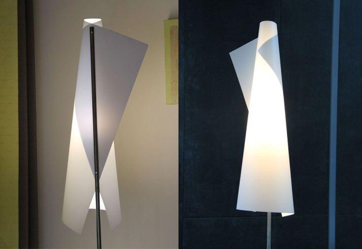 Lampadaire Design Cône